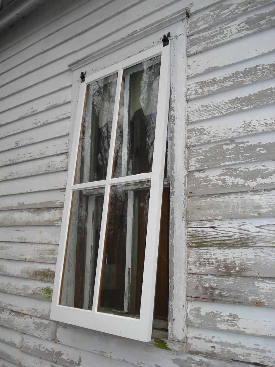 Wood Storm Windows : Victorian style storm sash