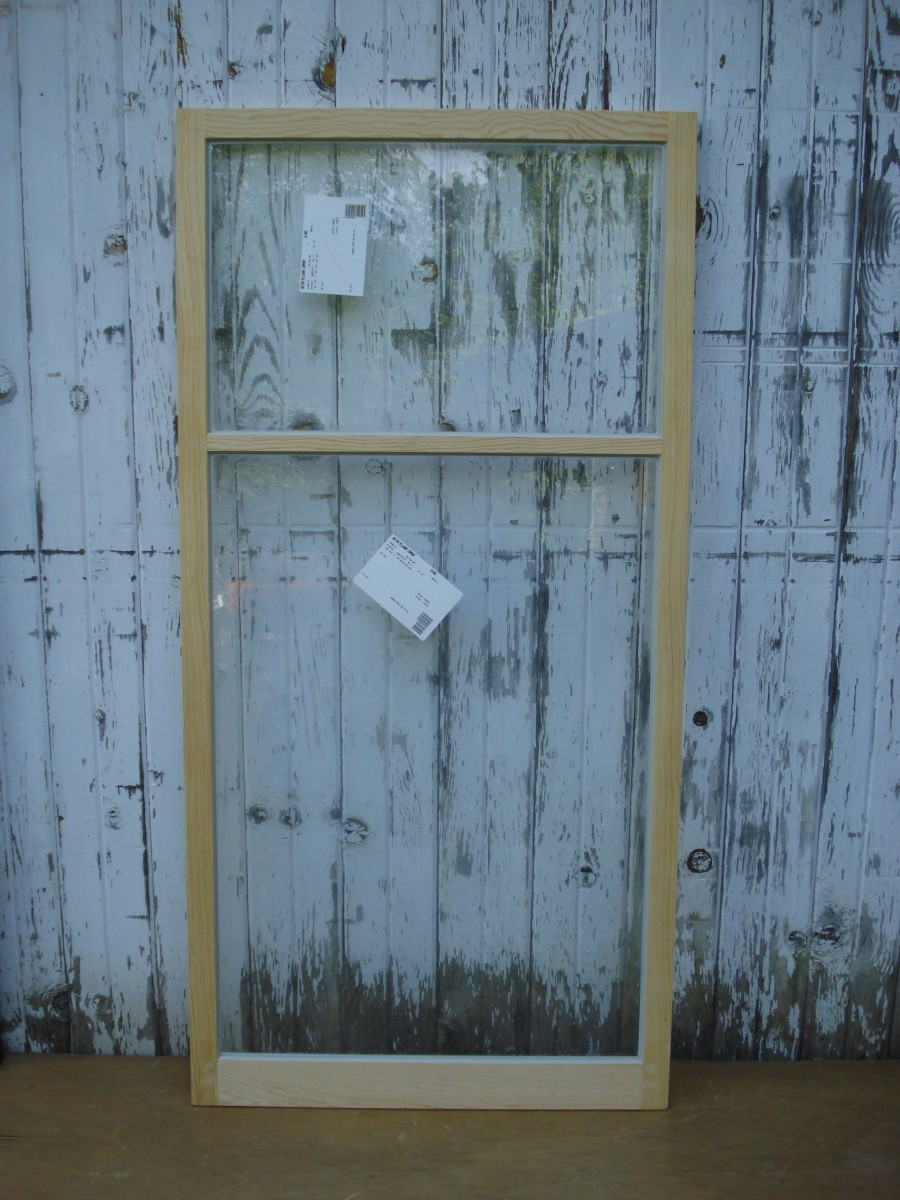 Wood Storm Windows : Wood storm sash made for cottage or oriel windows