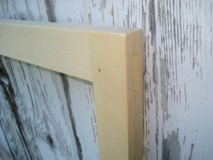 Pinned Mortise-and-Tenon Joinery
