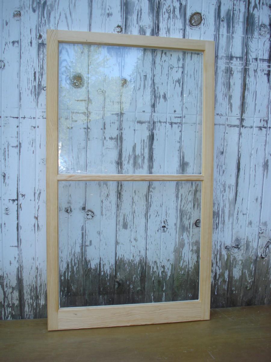 Traditional Wood Storm Window Sash For Your Original Windows